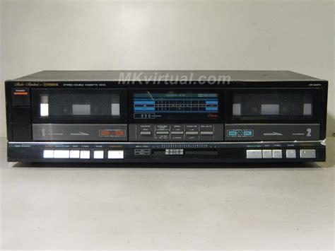 cassette deck fisher cr w47h cassette deck