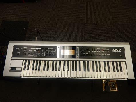 Keyboard Roland Gw 7 roland gw 7 61 key workstation keyboard reverb