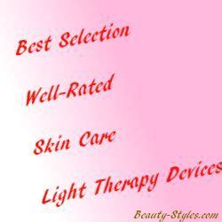 skinclinical light therapy anti aging device reviews best led light therapy for skin care