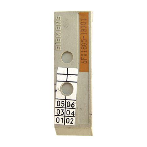 siemens 6fx1805 1bx01 e prom memory cnc parts dept inc