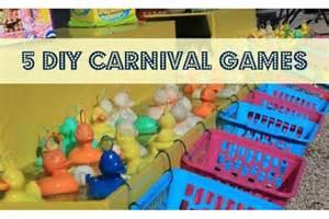 Backyard Carnivals 5 Diy Carnival Games You Can Make At Home Bedtime