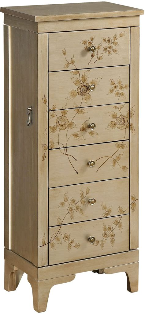 gold jewelry armoire rio metallic gold jewelry armoire from coast to coast