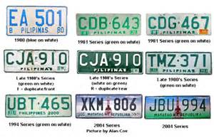 new car plate number philippines how to register your vehicle in the philippines