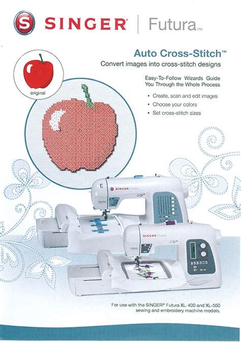 FUT4 004 Auto Cross Stitch   Singer Software