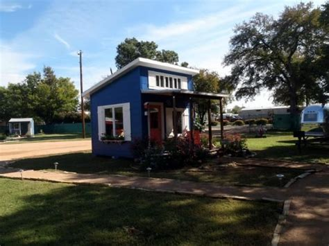 tiny houses austin austin texas has a tiny house community for homeless