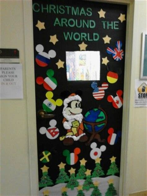 decorating ideas for christmas around the world 78 best classroom door decoration images on