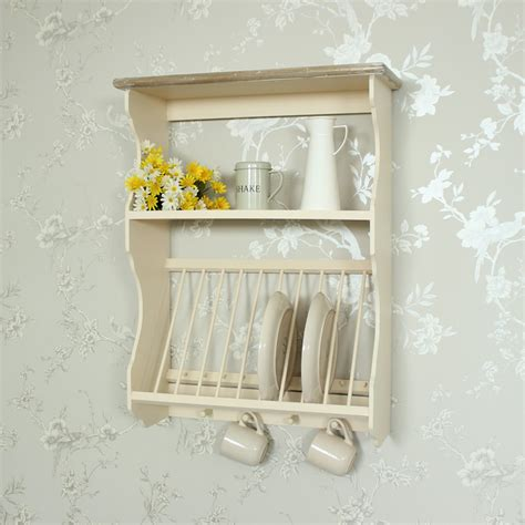How To Make A Wooden Plate Rack by Wooden Plate Rack With Hooks Melody Maison 174