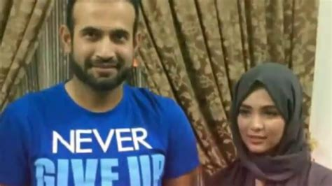 LATEST- Irfan Pathan with wife Safa Baig (pictures post ...