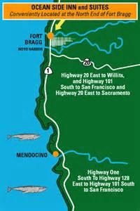 glass fort bragg california map historic fort bragg ca hotels hotels near mendocino ca