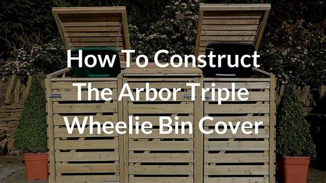 construct  arbor triple bin store youtube