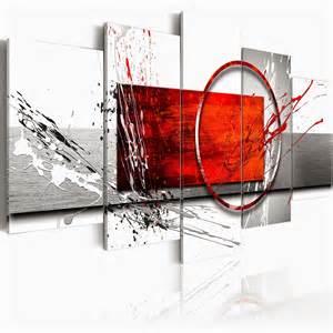 Wonderful Peinture Sol Pas Cher #4: Toile-imprimee-tableau-abstrait-pas-cher.jpg