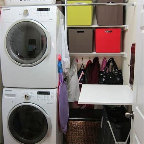 Small Laundry Room Storage Solutions 20 Small Laundry Room Organizer With Small Space Solutions