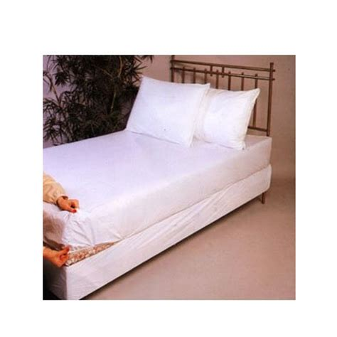 twin bed cover twin size bed mattress cover plastic white waterproof bug protector mites dust ebay