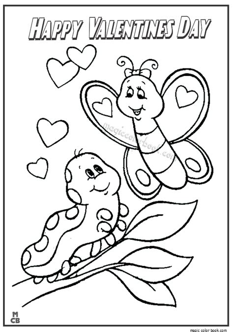 Happy Valentines Day Coloring Pages 06 Happy Valentines Day Coloring Pages