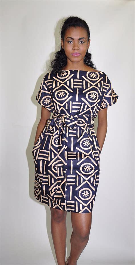 modern dress pattern design african print dress the paige