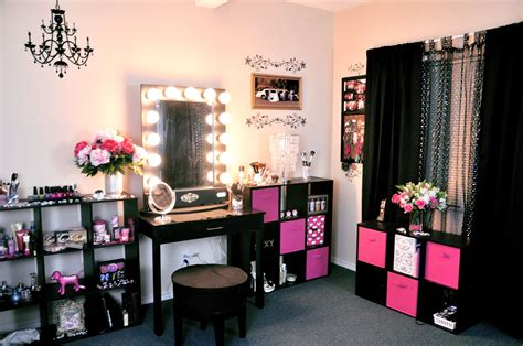 Makeup Room Decor Vanity Tour Makeup Collection 2012