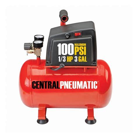 gallon air compressor  hp  psi oilless