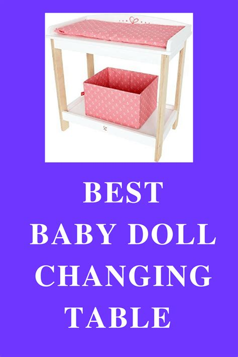 doll table baby doll changing table