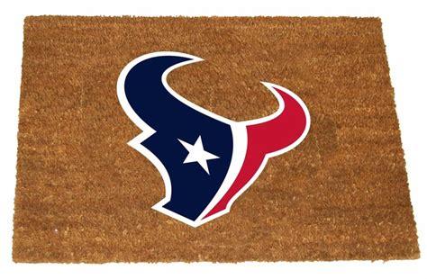 houston texans colors houston texans color exterior doormat
