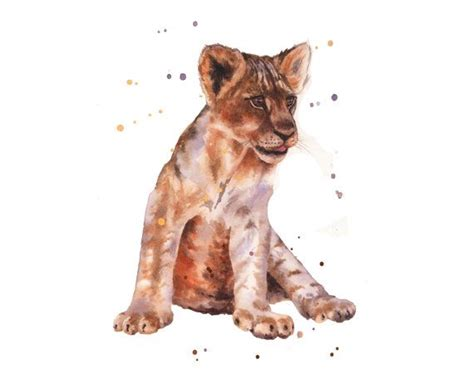 Lion Print by 25 Best Watercolor Lion Ideas On Pinterest Watercolor