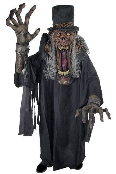 Day Of The Dead Home Decor men s creature reacher zombie costume adult costumes