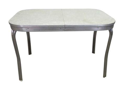 Enamel Table by Vintage Enamel Table Olde Things