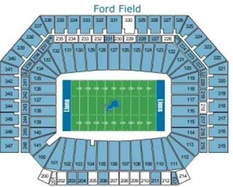 Ford Field Tickets by Detroit Lions Tickets 2017 Preferred Seats Access