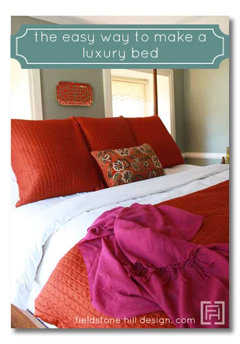 how to make a hotel bed at home dew the domesticated diva the hotel bed at home project