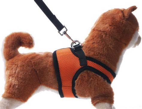 dogs is soft small harness petbaba soft ventilate mesh no pull harness