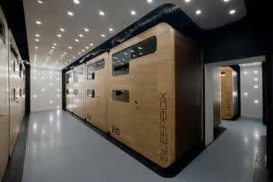 Mini House Floor Plans plug in capsule hotel gives new life to vacant building in