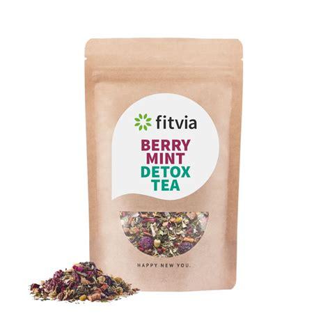 Berry Detox Tea by Raspberry Mint Detox Tea 187 Fitvia
