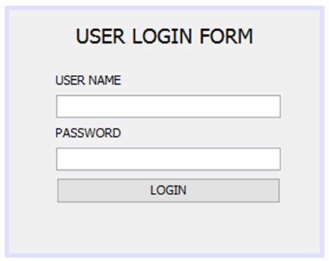 login form in java swing how to create a login form using java with exle
