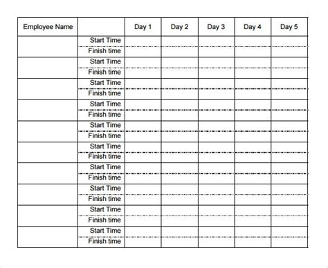 Image Result For Weekly Time Sheets Templates Fashion M Timesheet Template Resume Template Sle Time Card Template