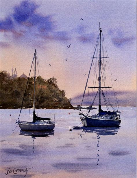 fishing boat artists watercolor paintings boats and the sea gallery seascapes