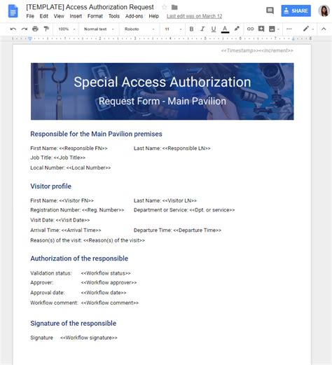 access workflow use 3 security sign and give access to a