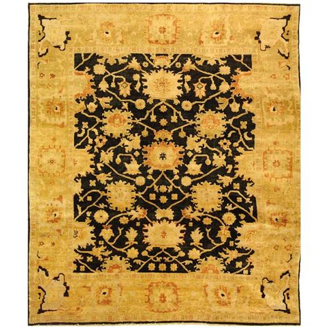 Safavieh Oushak - safavieh oushak black light gold 8 ft x 10 ft area rug