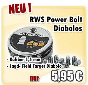Mimis Rws Power Bolt sportwaffen schneider newsletter