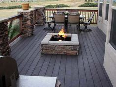 can you put pit on wood deck 1000 ideas about deck pit on pits