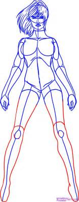 How to draw a superhero step by step comic book characters comics