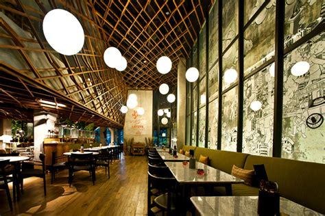 design interior cafe indonesia kosenda hotel by domisilium studio jakarta indonesia