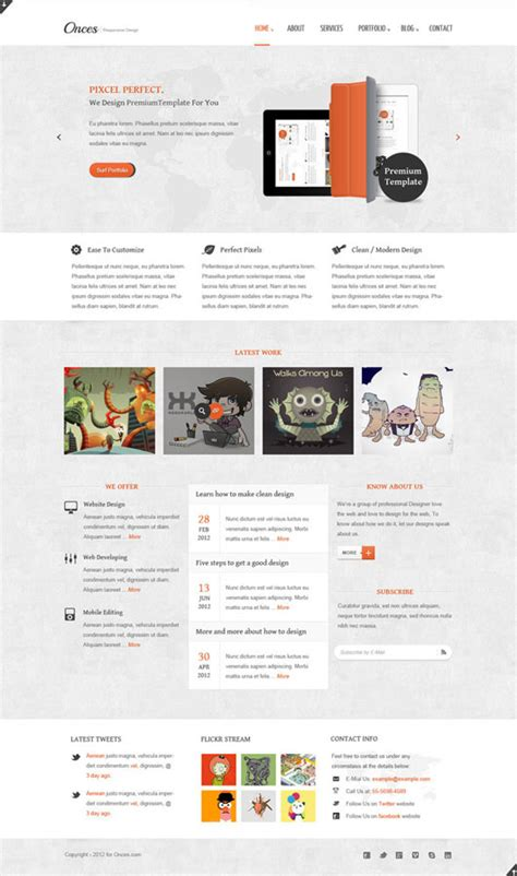 top html5 web templates 40 free exles
