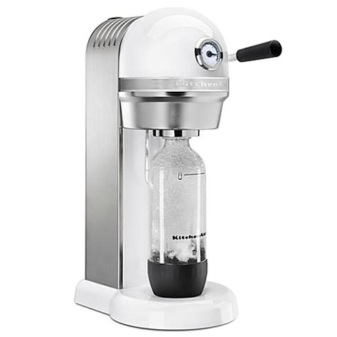 bed bath and beyond soda stream buy kitchenaid sparkling beverage maker powered by