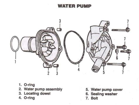Seal Pompa Power Steering Untuk Suzuki Aerio Ori Suzuki water thinglink
