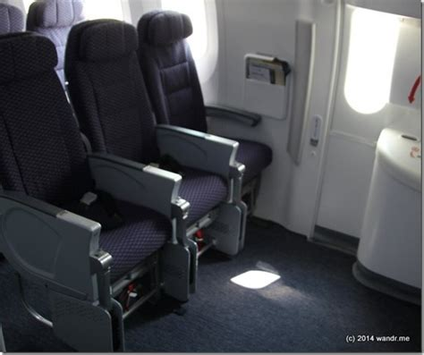 do exit row seats recline on american airlines best seats on the united 787 9 dreamliner