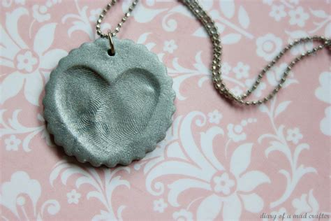 make fingerprint jewelry fingerprint charms diary of a mad crafter