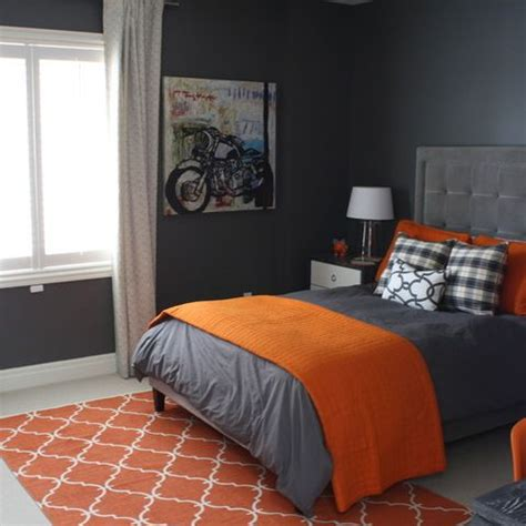 Orange And Grey Room Decor by Best 20 Orange Boys Rooms Ideas On