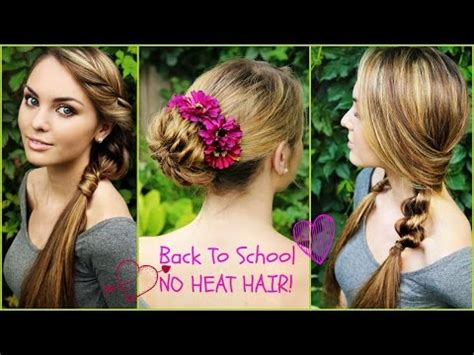 school hairstyles no heat vote no on wyers on its side