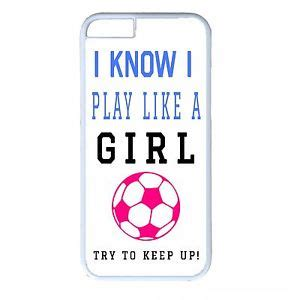 Quotes Iphone 5 5s 5se soccer futbol white cover quote