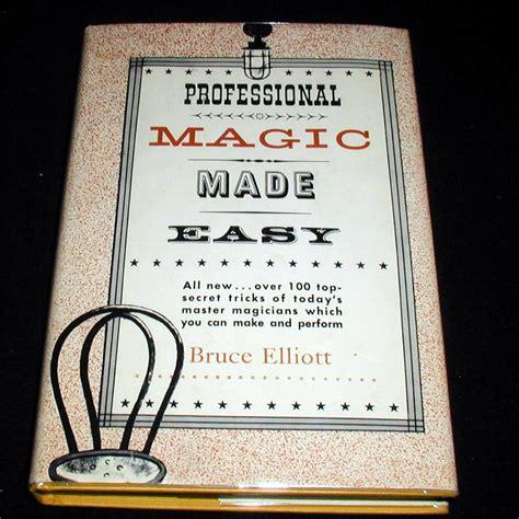 Professional Magic professional magic made easy by bruce elliott quality