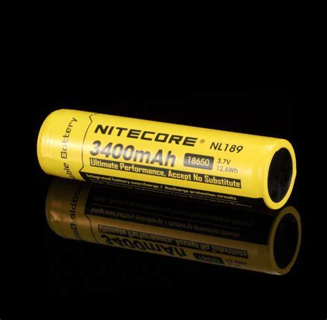 Termurah Nitecore 18650 Rechargeable Li Ion Battery 3400mah 3 7v batterie nitecore nl1834 18650 3400mah li ion